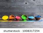 bright colours in coconut