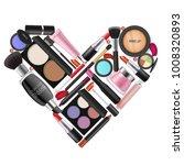 make up set. skincare  beauty...   Shutterstock .eps vector #1008320893