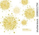 vector firework design on white ... | Shutterstock .eps vector #1008321754