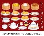 illustration vector set of dim... | Shutterstock .eps vector #1008324469