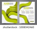 flyer template. brochure for... | Shutterstock .eps vector #1008342460