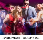 group of young people having... | Shutterstock . vector #1008346153