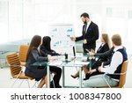 senior manager of the company... | Shutterstock . vector #1008347800