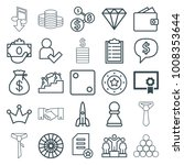 success icons. set of 25... | Shutterstock .eps vector #1008353644