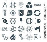 circle icons. set of 25... | Shutterstock .eps vector #1008353674