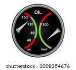 oil psi and deg f plane... | Shutterstock .eps vector #1008354676