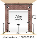creative photo studio.... | Shutterstock .eps vector #1008355990
