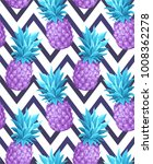 tropical seamless pattern with... | Shutterstock .eps vector #1008362278