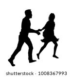 couple walking holding hands... | Shutterstock .eps vector #1008367993