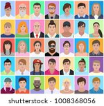 set people  document photo ... | Shutterstock .eps vector #1008368056