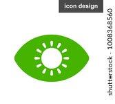 solar energy eye icon   Shutterstock .eps vector #1008368560