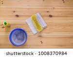 floor cleaning equipment | Shutterstock . vector #1008370984