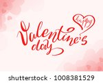 hand drawn valentines day... | Shutterstock . vector #1008381529
