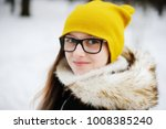 stylish pre teen girl 10 12... | Shutterstock . vector #1008385240