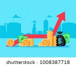 gross domestic product.... | Shutterstock .eps vector #1008387718