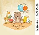 afecto,aniversario,bebé,fondo,globo,cumpleaños,chico,tarjeta,infantil,concepto,personalizable,lindo,delicado,dibujar,juguete del pato