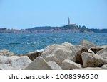 panoramic view of rovinj ... | Shutterstock . vector #1008396550