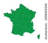 france map isolated on... | Shutterstock .eps vector #1008403240