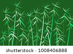 bamboo twigs background.... | Shutterstock .eps vector #1008406888