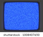 vector vhs blue intro screen of ... | Shutterstock .eps vector #1008407650