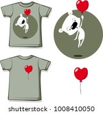 funny valentine shirt printing... | Shutterstock .eps vector #1008410050