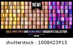 trend ultra violet  gold ... | Shutterstock .eps vector #1008423913