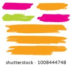 collection of hand drawn... | Shutterstock .eps vector #1008444748