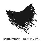 eagle illustration symbol.... | Shutterstock .eps vector #1008447493