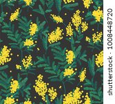 natural seamless pattern with... | Shutterstock .eps vector #1008448720