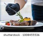 food stylist at work.... | Shutterstock . vector #1008455536