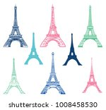 vector set of different eiffel