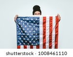 photo bearded young man wearing ... | Shutterstock . vector #1008461110