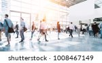 crowd of blurred people | Shutterstock . vector #1008467149