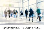 crowd of blurred people | Shutterstock . vector #1008467158