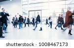 crowd of blurred people | Shutterstock . vector #1008467173