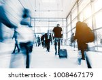 crowd of blurred people | Shutterstock . vector #1008467179