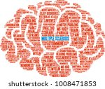multiple sclerosis word cloud... | Shutterstock .eps vector #1008471853