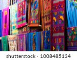 traditional woven fabric | Shutterstock . vector #1008485134