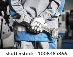 heavy duty machinery mechanic... | Shutterstock . vector #1008485866