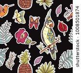 beautiful seamless pattern...   Shutterstock .eps vector #1008501874