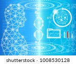 abstract background technology... | Shutterstock .eps vector #1008530128