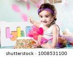 Small photo of Baby Girl Cake Smash