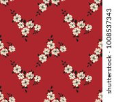 seamless vector ornamental... | Shutterstock .eps vector #1008537343