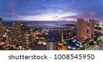 Waikiki City Lights At Sunset...