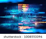 programming code abstract... | Shutterstock . vector #1008553396
