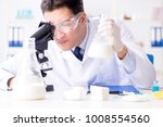 food scientist testing new... | Shutterstock . vector #1008554560