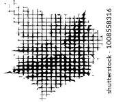 black and white grunge vector... | Shutterstock .eps vector #1008558316