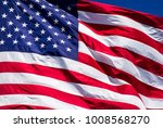 perfect american flag with... | Shutterstock . vector #1008568270