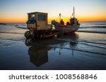Fishing Boat Catching The Earl...