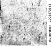 grunge texture black and white. ... | Shutterstock . vector #1008570568